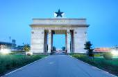 Independence Arch, Accra, Ghana — Stock Photo