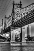 Ed Koch Queensboro Bridge from Manhattan — Stock Photo