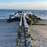 Coney Island Beach, Winter — Stock Photo #62752083