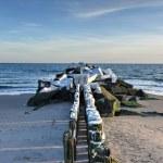 Coney Island Beach, Winter — Stock Photo #62752323