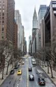 Vista lungo 42nd Street, Manhattan — Foto Stock