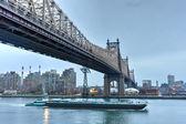 Queensboro Bridge from Manhattan, NY — Stock Photo