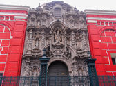 San Agustin Church - Lima, Peru — Stock Photo