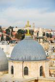 Church of the Holy Sepulchre - Jerusalem Old City — Stock Photo