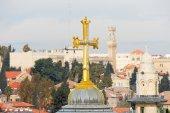 Church of the Holy Sepulchre - Jerusalem Old City — Stock Photo