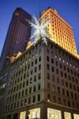 Holiday Decorations, Manhattan, NY — Stock Photo