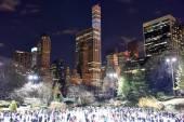 Central Park Skating Rink, New York — Stock Photo