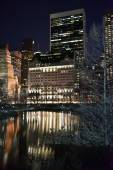 Central Park at Night, New York — Stock fotografie