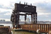 New York merkez demiryolu 69 cadde Transfer Köprüsü — Stok fotoğraf