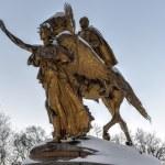 William Sherman Monument - Central Park, New York — Stock Photo #65652005