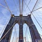 Brooklyn Bridge, Winter - New York CIty — Stock Photo #66219663