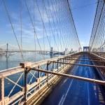 Brooklyn Bridge, Winter - New York CIty — Stock Photo #66220001
