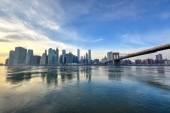 New York Downtown Skyline — Stock fotografie