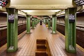 Clark Street Subway Station - Brooklyn, New York — Stock Photo
