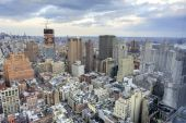 Горизонт Нью-Йорка — Стоковое фото