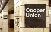 Astor Place Subway Station - New York City — Stock Photo