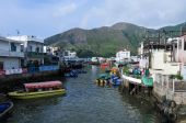 Tai O Village - Hong Kong — Stock Photo