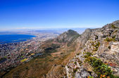 Table Mountain in Cape Town — Stock Photo