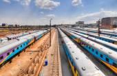 Braamfontein Railway Yards, Johannesburg — Stock Photo