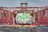 Williamsburg Bridge - Brooklyn, New York — Stock Photo
