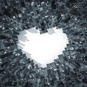 City of love 2 — Stock Photo