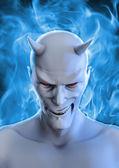 White devil — Stock Photo