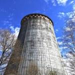 Large factory chimneys — Stock Photo #59537665