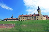 Ancient Nesvizhsky Castle in Nesvizh — Stock Photo