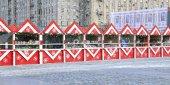 Christmas fair in Moscow — Stock Photo