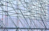Altitude design of aluminum tubes — Stock Photo