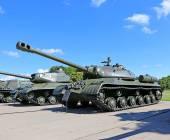 Soviet tanks during World War II — Stockfoto