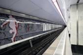 """Interieur Moskou metro station """"Spartak"""" — Stockfoto"""