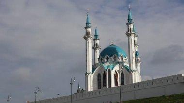 Kul-Sharif mosque in Kazan Kremlin in Tatarstan — ストックビデオ