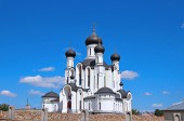 The temple in honor Reigning Mother of God in Ivantsevichi — Stock Photo