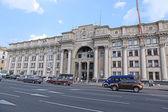 中央邮局在明斯克 — 图库照片