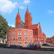 Постер, плакат: Church of St Simeon and St Elena in Minsk