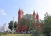 Church of St. Simeon and St. Elena in Minsk — Stok fotoğraf