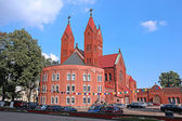 Church of St. Simeon and St. Elena in Minsk — Stock Photo