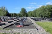 Memorial complex in Khatyn, Belarus — Stock Photo