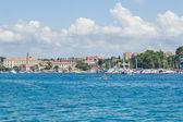 Starego miasta i portu — Zdjęcie stockowe