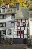 Monschau in Eifel as Old Town — Zdjęcie stockowe