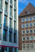 Aachen modern and ancient city — Stock Photo