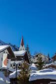 Winter paradise in Berwang — Stock Photo