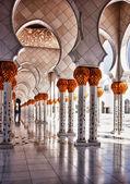 Mosque hallway — Stock Photo