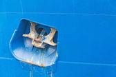 Raised anchor — ストック写真