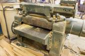 A joinery shop — Stock Photo
