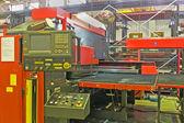 Hydraulic turret punch press — Stock Photo