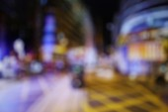 Defocused city lights — Stock Photo