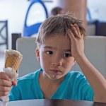 Pensive child — Stock Photo #71923681