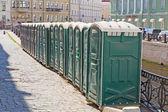 Bio toilets — Stock Photo